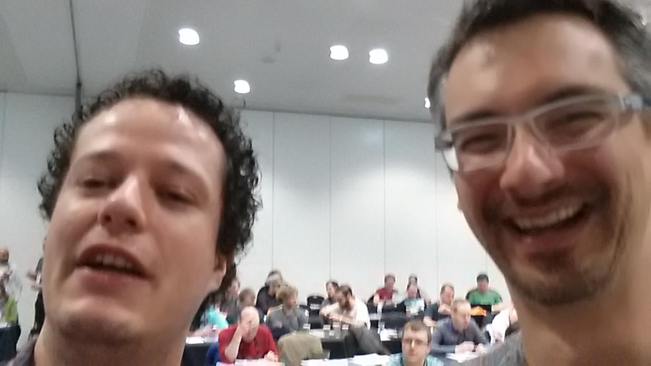 Selfie with Brent Ozar: Mission accomplished!